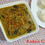 Kerala Kadala Curry/ Black Chana Curry