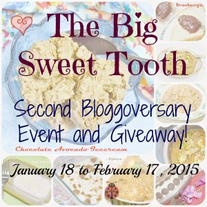 Blogoversary #2… Comes with an Event and Giveaway!!!