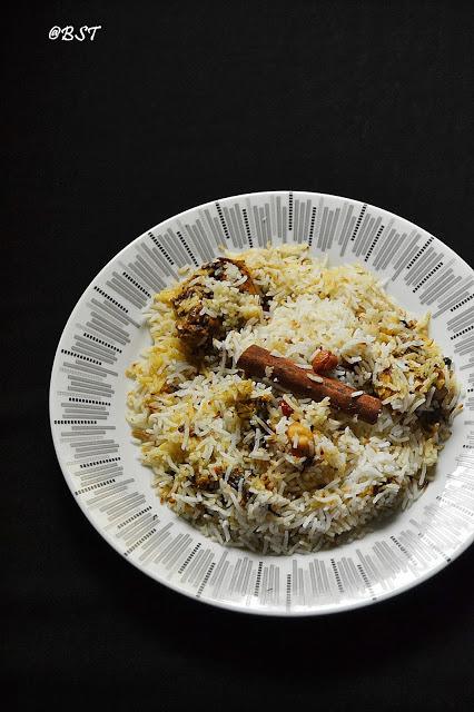 Travancore Style Chicken Biriyani