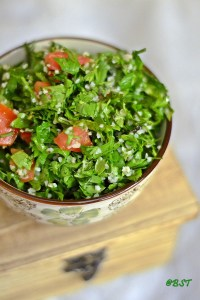 Tabbouleh ~ Middle Eastern Parsley Salad
