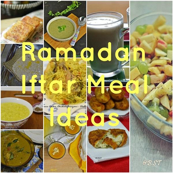 Ramadan Meal Planning – Iftar