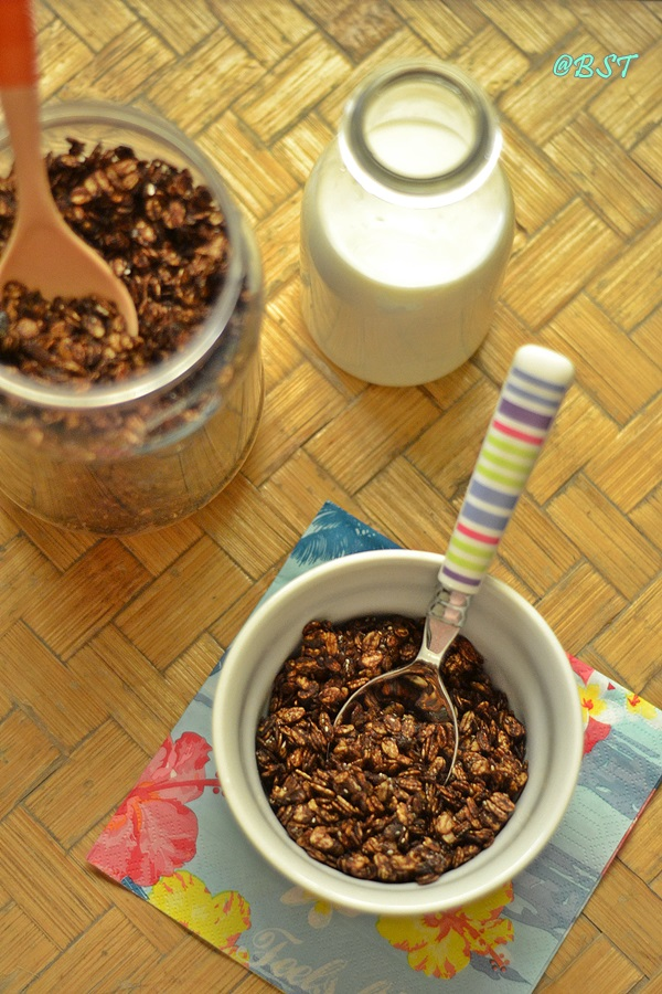 Chocolate Honey Granola
