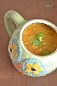Panchmel Dal/ Panchratna Dal ~ Mixed Lentil Gravy
