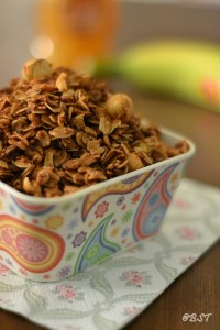 Brown Butter Granola