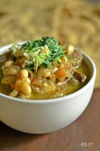 Emirati Lamb White Bean Stew