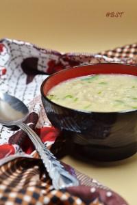 Oats Mushroom Soup
