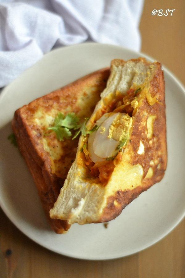 Bun Nirachathu | Bread Mirachathu ~ Malabar Stuffed Bun/ Bread