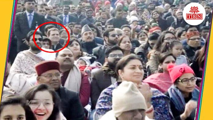 bihar-hindi-news-tbn-patna-rahul-gandhi-appeared-in-the-sixth-row-in-republic-day-celebrations-the-bihar-news