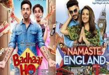 badhayi ho collects 45 crores and namaste england bags only 6 crores | The Bihar News