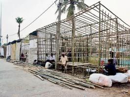 preparations of sonpur mela Ganga snan on 21 nov