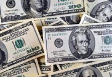 Foreign exchange reserves cross 446.10 billion dollars