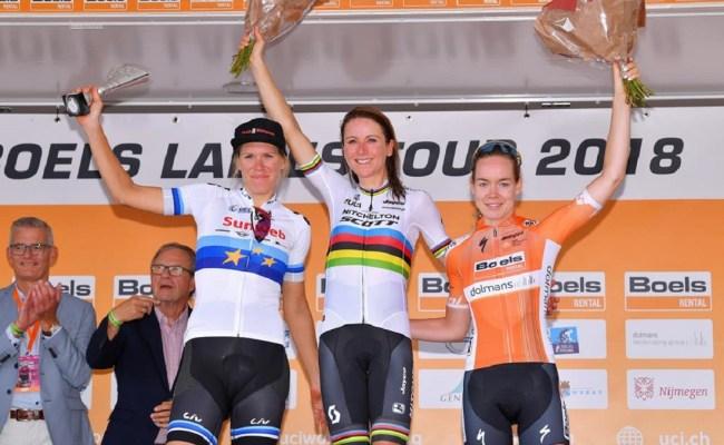 Annemiek Van Vleuten Wins The Boels Ladies Tour Overall