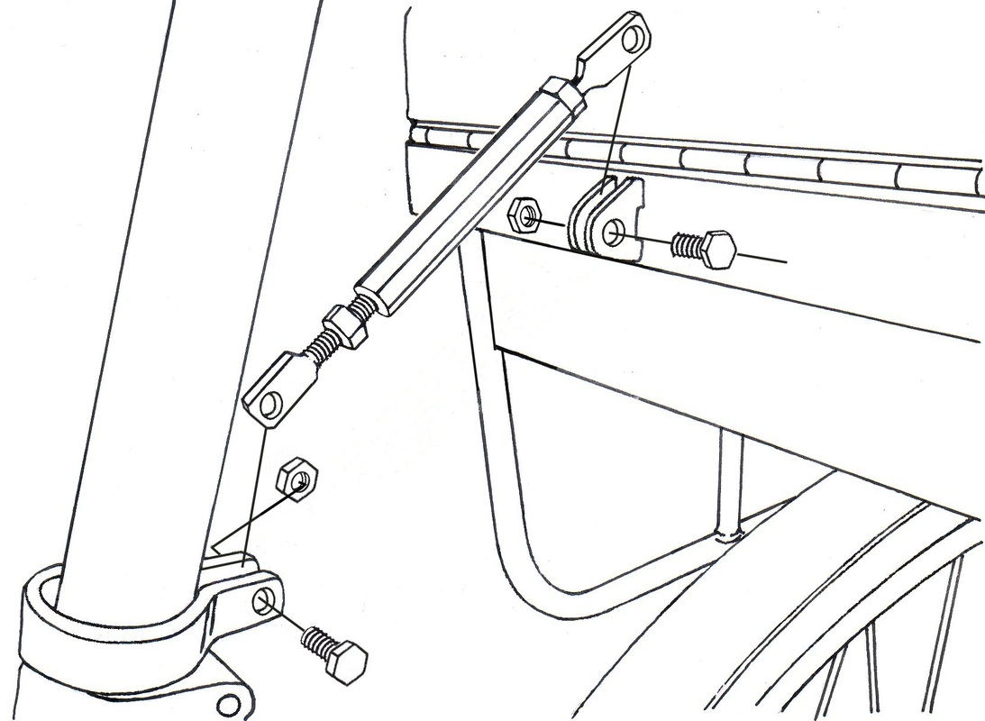 Draft of illustrations for the Companion Bike Seat