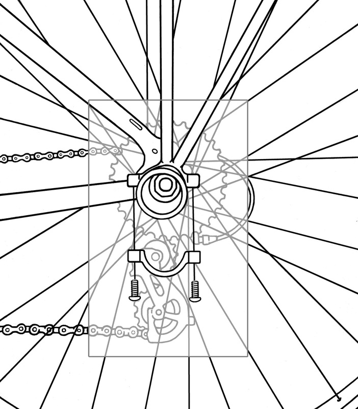 Installation Guide drawings for Companion Bike Seat
