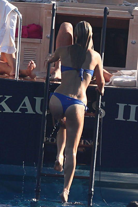 Bar Refaeli-Blue-Thong-Bikini-Sexy