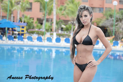 1 Black Colombian Bikini Tint Black Bikini