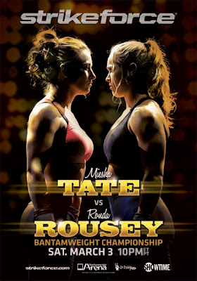 Tate vs Rousey poster