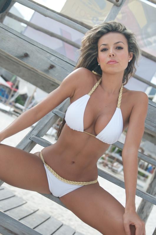 White Braided Bikini-1 Goddess Bikini