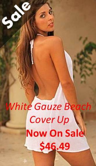 Sale-White-Gauze-Cover-Up-$46.49