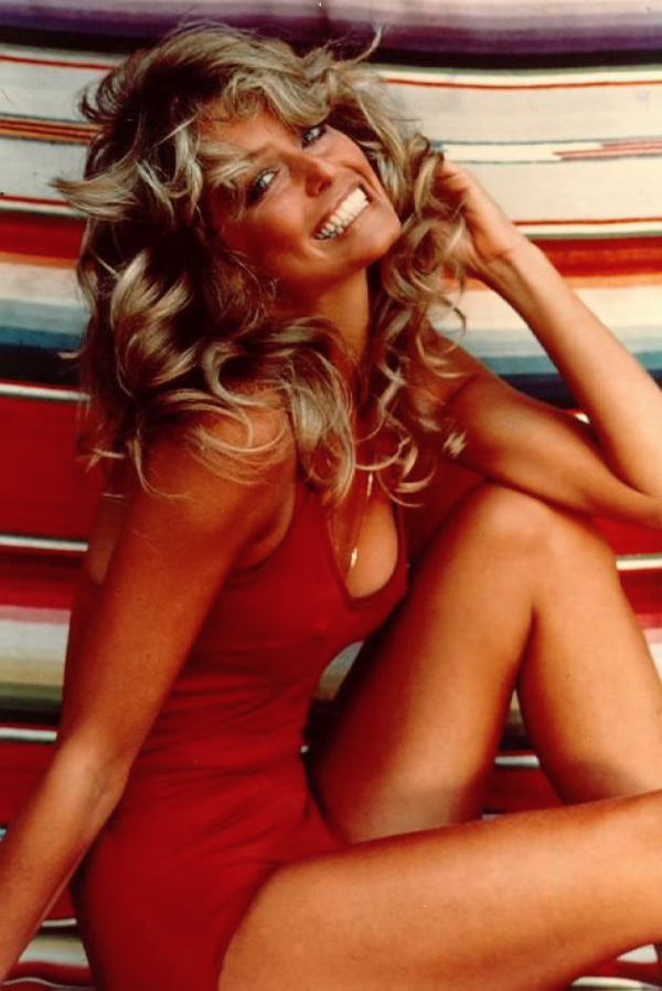 farrah-fawcett swimsuit