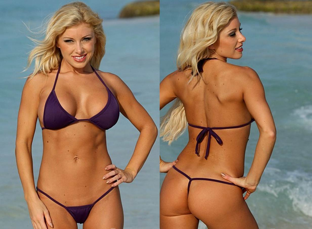 Finding the Right Thong Bikini as a Plus Size WomenEggplant G String