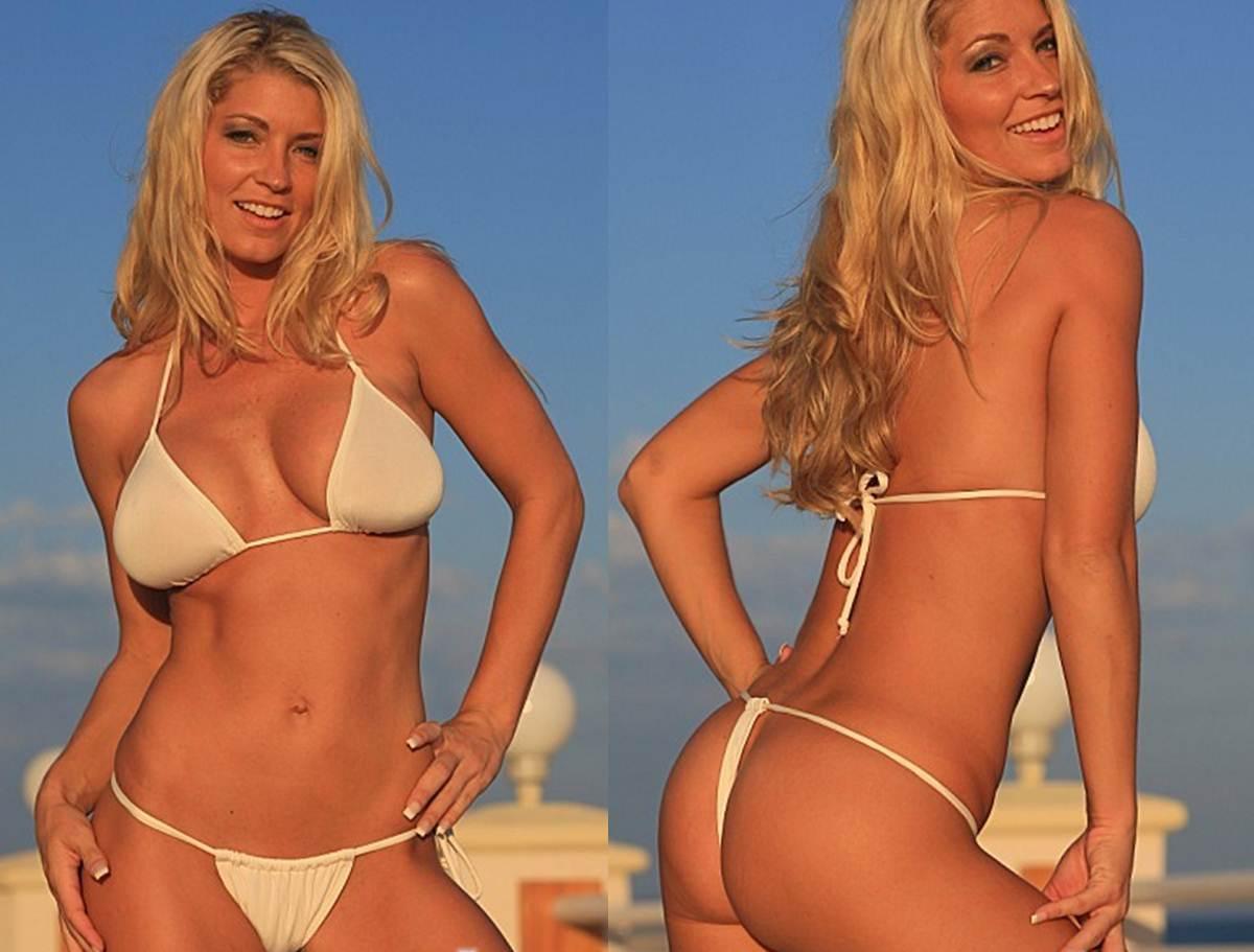 How to Buy your Girlfriend a Thong Bikini Sexy Sheer White G String