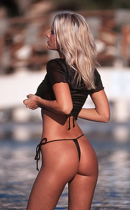 Are the thong bikinis still popular