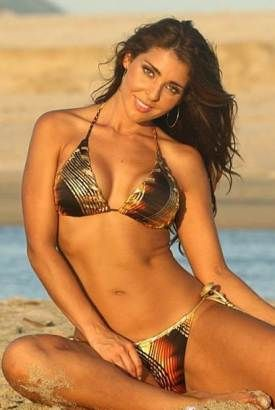 Bikini Of The Day March 8 2014 Metallic Venetian String Bikini