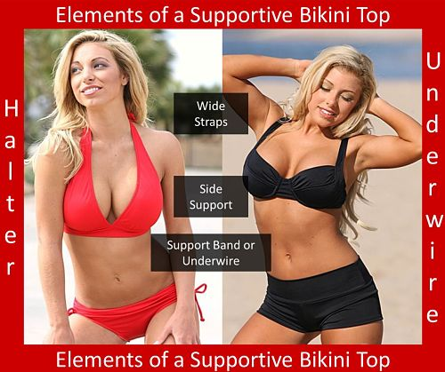 Elements Of A Supportive Bikini Top