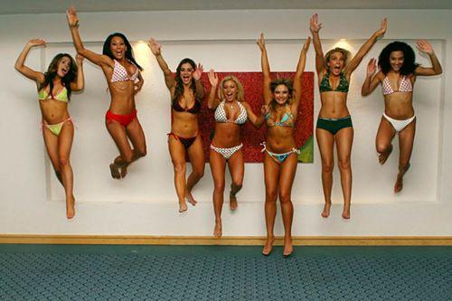 Tropical-Beach-Swimwear-Team-Girls-having-Fun