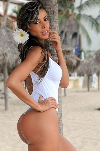 Beautiful-Thong-1PC-bathing-Suit-White