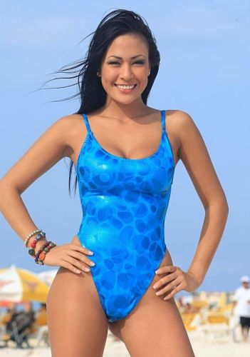 One-Piece-G-String-Swimsuit-Blue