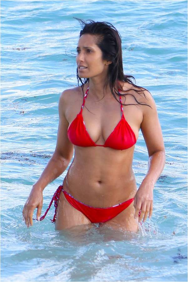 Padma Lakshmi 2015 Bikini Perfect
