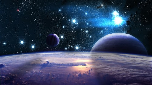 universe outer space