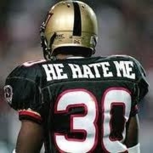 Rod Smart was the leading rusher on the Las Vegas Outlaws of the short-lived XFL. His career took him to both the CFL and NFL, where he played in Super Bowl 38 for the Carolina Panthers. On the last play of the game, with the Panthers trailing 32-29 and only 4 seconds left on the clock, Rod Smart received the New England Patriots kick-off but was unable to score the game-winning touch-down.