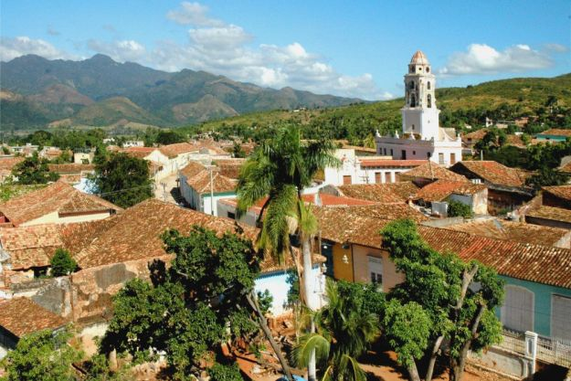 Cuba is a mountainous country with close to 80% of the land area of Florida.