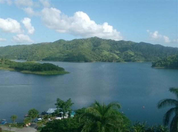 Hannabanilla Lake in the Escambray Mountains, Cuba.