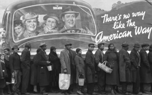 great depression, no way like the American way