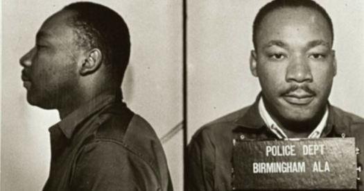 Martin Luther King mug shot in Birmingham Jail in 1963 2