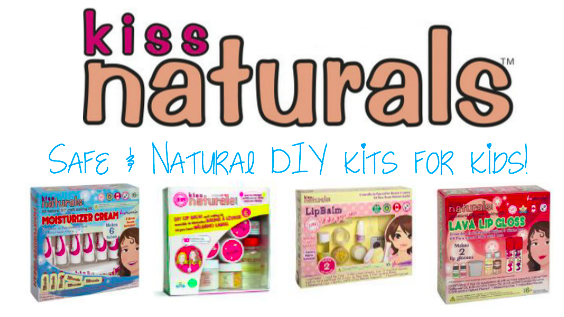 Kiss Naturals - Natural DIY Kits for kids!