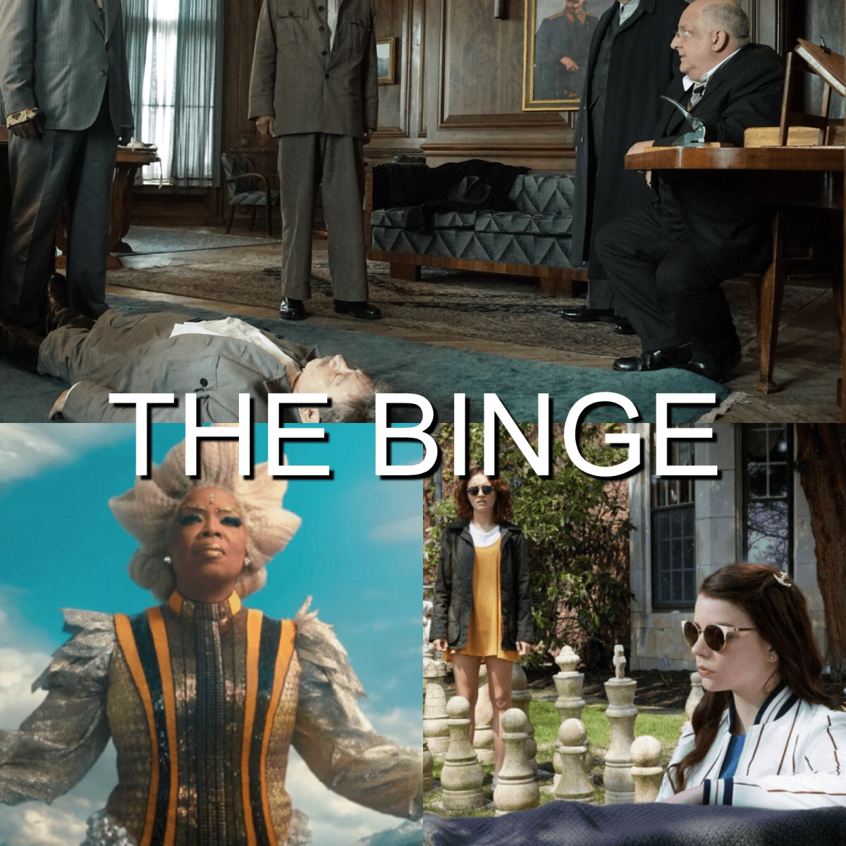 The Binge Movie Podcast: A Wrinkle in Time | The Death of Stalin | Thoroughbreds