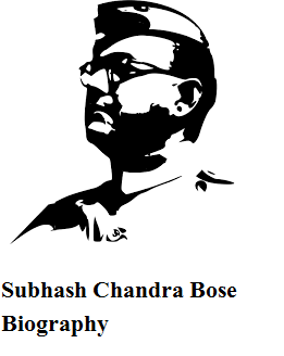 Subhash Chandra Bose Biography in Hindi - Thebiohindi