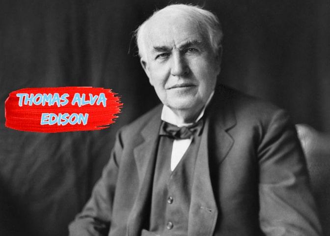 थॉमस अल्वा एडिसन की जीवनी - Biography of thomas alva edison