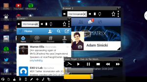 Multiscreen Multitasking