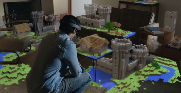 I am totally enamoured with the HoloLens concept...