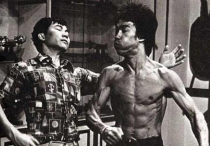 Bruce Lee strength training