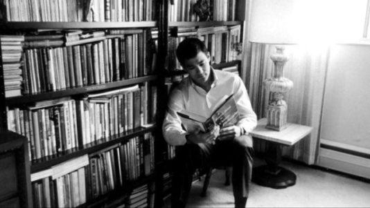 Bruce Lee reading