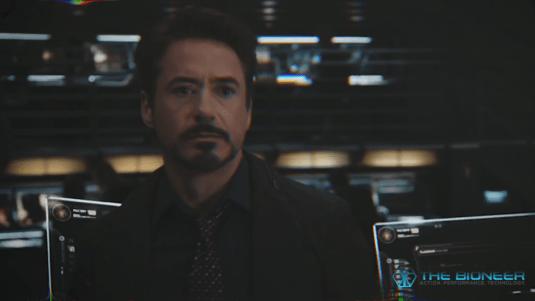 Tony Stark Charisma