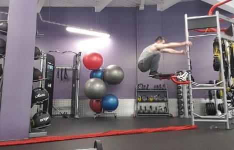 Jump height Nightwing