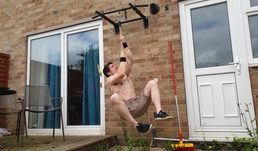 Rope climbing technique